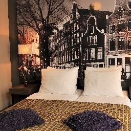 Chambre double (standard) Citadel Hotel Amsterdam (North Holland)