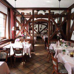 Restaurant/salle de petit-déjeuner Linde