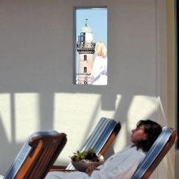 Ruhebereich Strand-Hotel Hübner