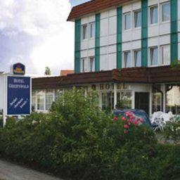 Vista exterior Europa Hotel Greifswald