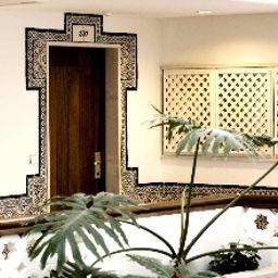 Vista all'interno Hotel Oriental