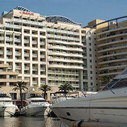 Widok zewnętrzny Riviera Marriott Hotel La Porte de Monaco