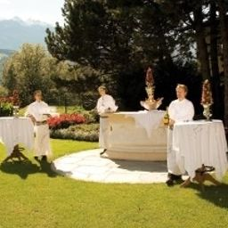 Garden Maria Theresia Hall in Tirol (Tyrol)