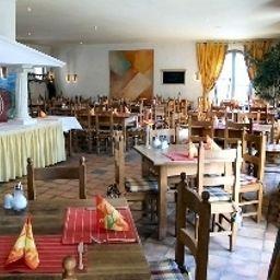Restaurant/salle de petit-déjeuner Albergo