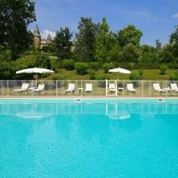 Pool Chateaux de Castel Novel Chateaux et Hotels Collection Varetz (Limousin)