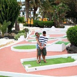 Golf course H10 Lanzarote Princess