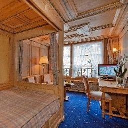 Single room (standard) Grand Hotel Zermatterhof
