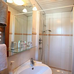 Badezimmer Hotelpension Nuhnetal