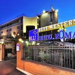 Vue extérieure Best Western Blu Hotel Roma