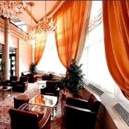 Vestíbulo del hotel Le Manhattan