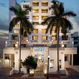 Exterior view Marriott Stanton South Beach