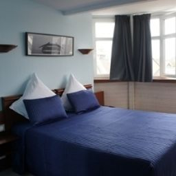 Chambre double (confort) Europe Citotel Perros-Guirec (Brittany)