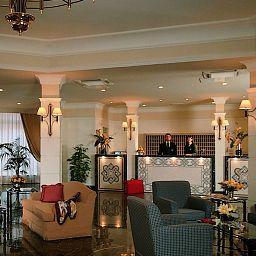 Vestíbulo del hotel Cristoforo Colombo