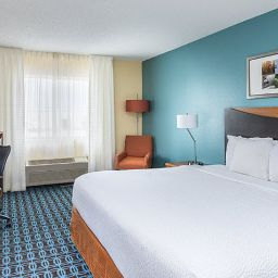 Pokój Fairfield Inn & Suites Lincoln