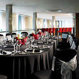 Restauracja London Marriott Hotel West India Quay