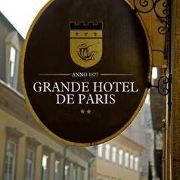 Vista exterior Grande Hotel de Paris