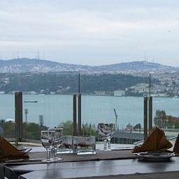 Salle du petit-déjeuner Point Hotel Taksim