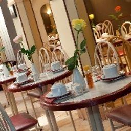 Sala de desayuno Grand Hotel de Paris