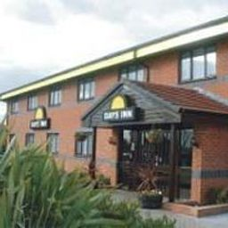 Vista exterior Days Inn Warwick South M40 Welcome Break Service Area Warwick (England)