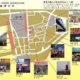 Plano de situación Ramada Kowloon