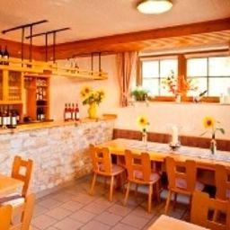 Restaurant/salle de petit-déjeuner Weingut Ellernhof Landhotel