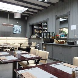 Restaurant/salle de petit-déjeuner Taormina
