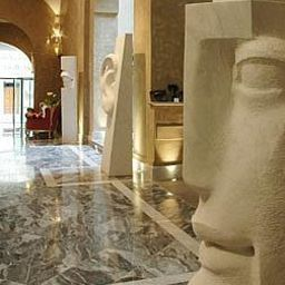 Lobby Borghese Palace Art Hotel