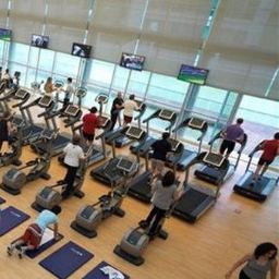 Wellness/fitness area Lagoas Park