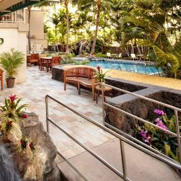 Exterior view Courtyard Waikiki Beach