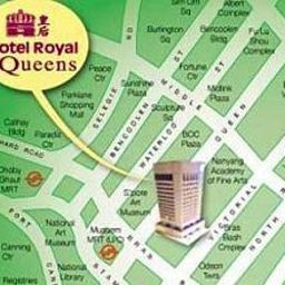 Info Royal at Queens Singapore