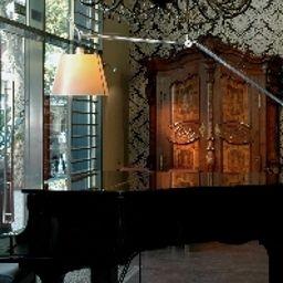 Vista all'interno Villa Emilia