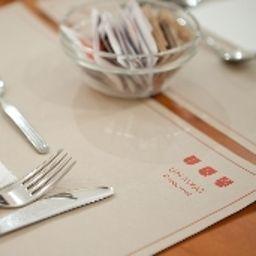 Sala de desayuno Unaway Hotel Occhiobello