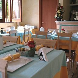 Salle du petit-déjeuner Residence Alberghiero Eolie