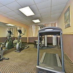 Wellness/fitness area Quality Inn & Suites Event Center
