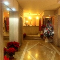 Vestíbulo del hotel Posta