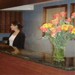 Vestíbulo del hotel Sandmelis