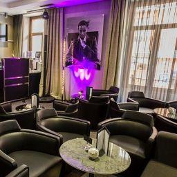 Bar de l'hôtel AC Hotel Recoletos