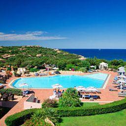 Swimming pool Grand Hotel In Porto Cervo
