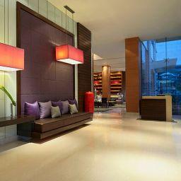 Hol hotelowy Courtyard Bangkok