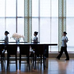 Restaurant Yeouido Park Centre Seoul - Marriott Executive Apartments