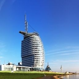 Vista exterior Atlantic Sail City Bremerhaven (Bremen)