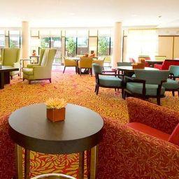 Vestíbulo del hotel Courtyard Sioux Falls