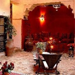 Hall de l'hôtel Riad Carina
