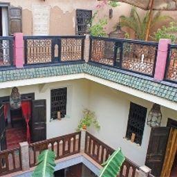Intérieur de l'hôtel Riad Nomades