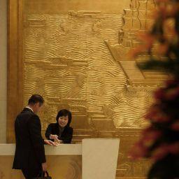 Vestíbulo del hotel InterContinental DALIAN