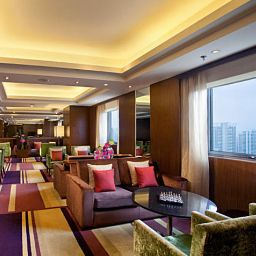 Bar del hotel Courtyard Shanghai Xujiahui
