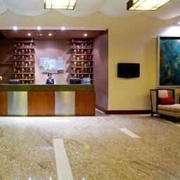 Vestíbulo del hotel Holiday Inn Express QUITO