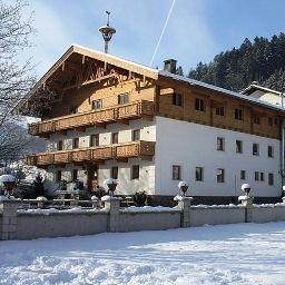 Vue extérieure Ferienhof Kampfl im Zillertal Pension