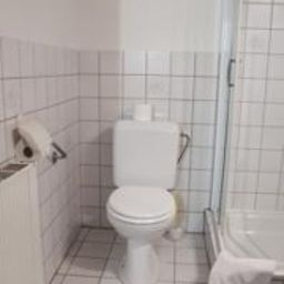 Bagno in camera Budget Flats Brussel Brussels (Brussels-Capital Region)