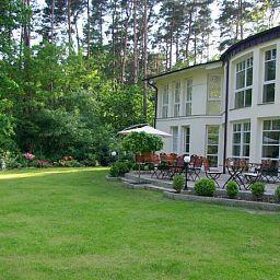 Terrasse Gesundheitsfarm Villa Morgentau